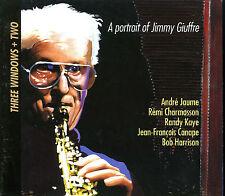 THREE WINDOWS + TWO portrait of Jimmy Giuffre  JAUME CHARMASSON CANAPE