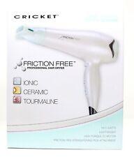 Cricket Professional Friction Free Ionic Tourmaline Ceramic Hair Dryer 1875 Watt