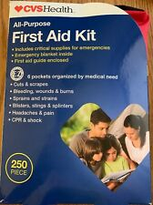 CVS Health All-Purpose First Aid Kit 250 Pieces