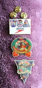 Speedo USA Olympic Swimming PINs set - Celebrating the US Olympic Spirit