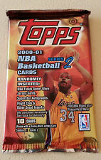 NBA Topps Series 2 2000/01 Hobby Pack - Basketball Cards