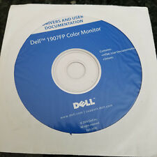 NEW OEM DELL 1907FP COLOR MONITOR DRIVERS & USER DOCUMENTATION CD