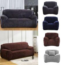 Sofahusse Stretch Elastic Verdickung Plüsch Sofaabdeckung Couch Möbel Elastizitä
