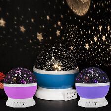 Night Star Moon Sky Starry Projector LED Light Lamp Kids Baby Bedroom AU POST