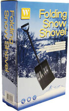 Folding Snow Shovel Scoop Ideal for Mucking Out Stables Horsebox Horses etc