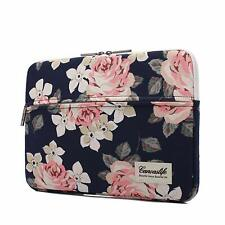 White Rose Patten Laptop Sleeve 14 Inch 14.0 Case Bag Computers & Accessories