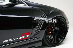 BEAST Decal Sticker sport car racing stripe auto emblem logo motorsport 2PC PAIR