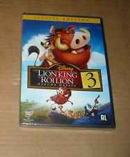DVD DISNEY LE ROI LION 3 SOUS CELLO EN FRANCAIS