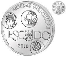 PORTUGAL 10 euro plata 2010 ESCUDO  - Moedas historicas - Iberoamericana