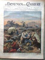 La Domenica del Corriere 10 Novembre 1912 Pozzuoli Sylva Slesia Savona Cerveteri