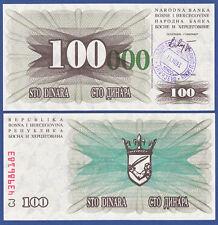 Bosnia/Bosnia 100.000 Dinara 15.10.1993 UNC p.56 e