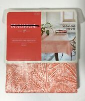 Opalhouse Oblong Easy Care Tablecloth 60x84 Orange Floral