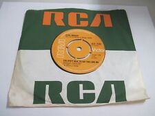 """ELVIS PRESLEY """"You Don't Have To Say You Love Me"""" """"Patch It Up"""" UK NM (3)"""