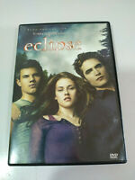 Saga Eclipse Drepusculo Twilight DVD + extra Spagnolo Inglese