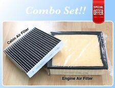 Engine&Carbonized Cabin Air Filter Camry Sienna RX350 ES350 Avalon Highlander