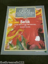 GREAT COMPOSERS #46 - BARTOK - CONCERTO FOR ORCHESTRA
