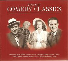 VINTAGE COMEDY CLASSICS - 3 CD BOX SET - MAX MILLER, GRACIE FIELDS & MORE
