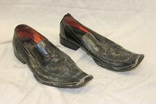 Robert Wayne Motley Fleur de Lis Design Dress Shoe Men's Size 8 LOVED Used Cond