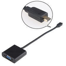 New Micro HDMI Male TO VGA Female Adapter HDMI Cable For Samsung Series 9