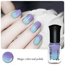 6ml Thermal Nail Polish Peel Off Temperature Color Changing Varnish 20Colors