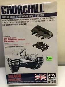 AFV Club 1/35 scale Churchill Tank Workable track set