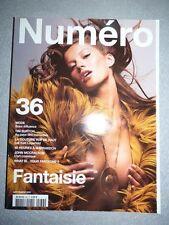 Revue magazine mode fashion NUMERO #36 septembre 2002 Gisele Bundchen