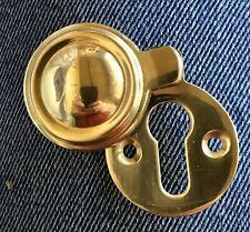 Hardware Key Hole Cover patine sur laiton écusson gravé Plaque