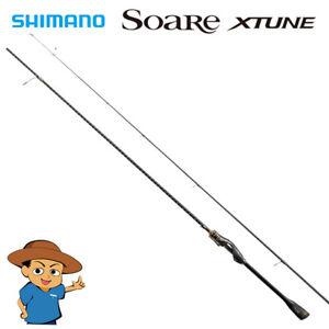 Shimano SOARE XTUNE S80L-S Light fishing spinning rod 2020 model