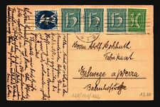 Germany 1922 Inflation Postcard  - Z17144