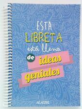 """Libreta A5 """"Esta Libreta Está Llena De Ideas geniales"""""""