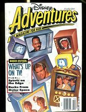 Disney Adventures Magazine October 1993 What's Up On TV VG No ML 013117jhe