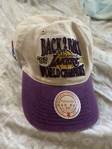 Mitchell & Ness Los Angeles Lakers Vintage Championship Hat