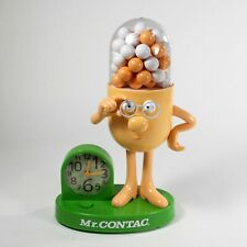 Mr Contac Talking Alarm Clock Figure Advertising Drug Mascot