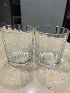Bormioli Whiskey Glass Vitrosax Italy Set Of 2