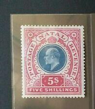 NATAL 1902 5s SG 140 Sc 94 MH