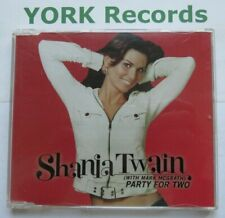 SHANIA TWAIN - Party For Two - Excellent Condition CD Single Mercury 2103240