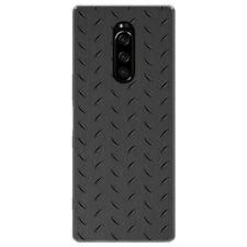 Coque Gel TPU pour Sony Xperia 1 Design Métal Dessins
