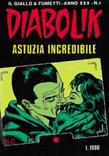 fumetto DIABOLIK ANNO XXX numero 1