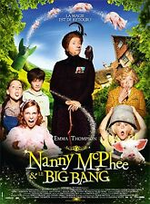 AFFICHE NANNY MC PHEE AND THE BIG BANG 4x6 ft Bus Shelter Poster Original 2010