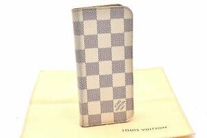 Authentic Louis Vuitton Damier Azur Folio iPhone 6 Case LV 97549