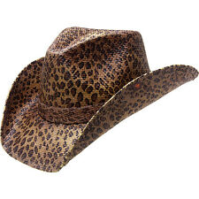 Peter Grimm Rowdy Drifter Hat - One Size - Leopard Hats/Gloves/Scarve NEW