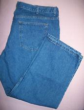 Mens Saddlebred Dark Wash Straight Leg Jeans Size 50W X 30L Big & Tall EUC