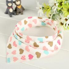 1Pcs Infant Kids Baby Unisex Feeding Saliva Towel Dribble Triangle Bandana Bibs