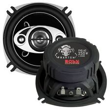 "BOSS Audio P45.4C Phantom 4"" 4-way 250-watt Car Full Range Speakers New"