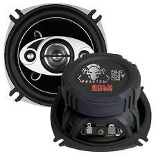 "BOSS Audio P45.4C Phantom 4"" 4-way 250-watt Car Full Range Speakers New"
