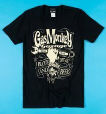 Official Black Gas Monkey Blood Sweat and Beers T-Shirt