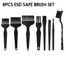 8pcs ESD SMD Anti-static Cleaning Brush Set for Electronic Repair PCB Soldering