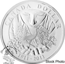 Canada 2011 $1 100th Anniversary of Parks Canada Proof Silver Dollar