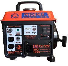 Phoenix Generators PG1000 Portable Gasoline Generator 1000 Watt - Gas 2 Stroke
