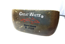 Tiger Shark Great White B-3100 Right Handed Brass Putter 7 Slot P Squared 35 ""